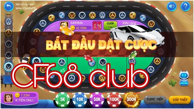 CF68 Club trang chủ tải Game