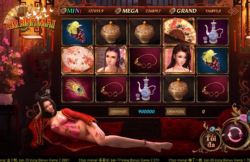 chơi game Kim Bình Mai tại CF68