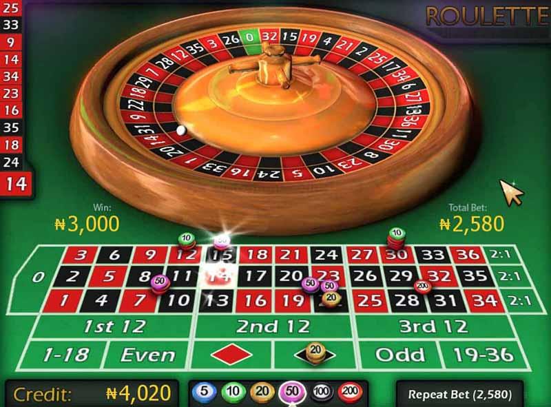 Chơi Roulette trực tuyến tại Cf68